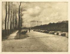 James Craig Annan, A Utrecht Pastorale, Holland, 1892.