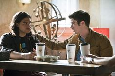 """Though a familiar face made a surprise return, there was enough romance on last night's episode of The Flash to make audiences believe it was Valentine's Day! As things heat up this season and Cisco embraces his new talents, our writer recaps the very latest in her series, """"The Flashback."""" #theflash #dccomics #runbarryrun #tvshows #recap #spoilers"""