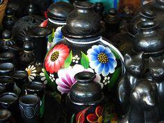 San Bartolo Coyotepec  pueblo famoso por sus artesanías en barro negro