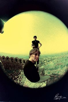 Paul and John. Photographed by Ringo.