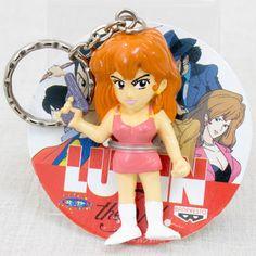 Lupin the Third 3rd Fujiko Mine Figure Keychain Banpresto JAPAN ANIME MANGA
