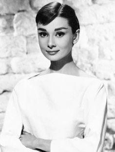 Audrey Hepburn- style icon 8. Vintage Style Icon #modcloth  #wedding