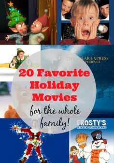 20 Favorite Holiday Movies for the Whole Family