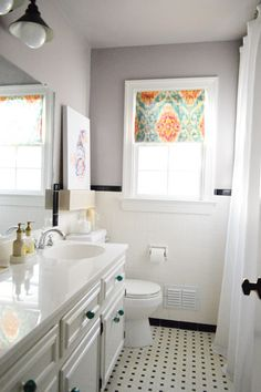 15 minute - No sew - window shade! It's truly that easy!