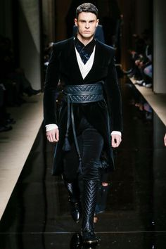 BALMAIN  Fall/Winter 2016 collection  PARIS MENSWEAR