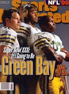 Brett Favre Through The Years   Sports Illustrated Kids. Brett Favre, Reggie White, & Donald Driver. We won!