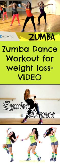 ZUMBA Dance Workout for weight loss-VIDEO