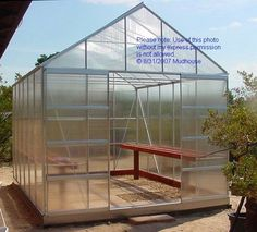 Building a Harbor Freight 10' x 12' Greenhouse