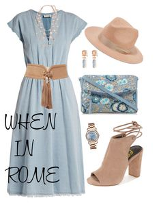 when in rome by traceyenorton on Polyvore featuring polyvore fashion style MASSCOB Mantaray Chopard Karine Sultan Alexis Bittar rag & bone Balmain clothing