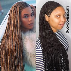 Beyonce Inspired Cornrows done by London's Beautii in Bowie, Maryland. www.styleseat.com/v/londonsbeautii https://www.instagram.com/londonsbeautii/ #CornrowsBeyonce