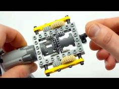 Super-small Lego Technic automatic gearbox - YouTube