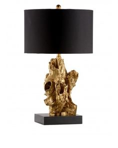 Bayou Table Lamp in Gold