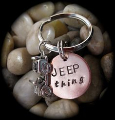 JEEP Thing JEEP Wrangler Hand Stamped Copper by City2Sticks, $14.00