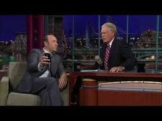 Kevin Spacey Tweets with Dave Letterman (HD!)