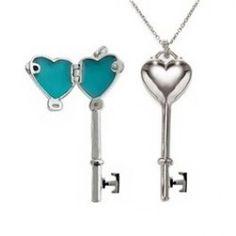 Silver Key Heart Pendant is a hot seller!  From $50  Sale $32 http://www.buy-gifts.us/2012/02/silver-key-heart-pendant/