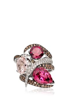Diamond Aurora Ring Set by Shaun Leane for Preorder on Moda Operandi