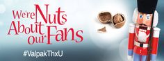 """We're Nuts About our Fans! So we're spending the next 24 days saying """"Thank You!"""" by giving away $100 a day! Stay with us through 2015 so we can continue..."""