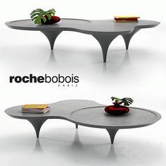 Roche Bobois - Drop coffee table Eco Furniture, Furniture Board, Cabinet Furniture, Furniture Design, Coffe Table, Table Desk, Dining Table, Lounge Design, Center Table
