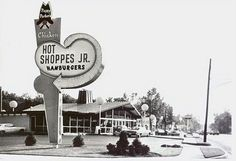 Hot Shoppes Jr. Restaurant. They were a Marriott franchise and were replaced by Roy Rogers -- which are also long since gone.