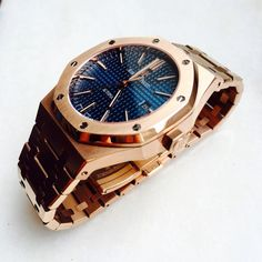 Audemars Piguet Royal Oak 15400 Pink Gold