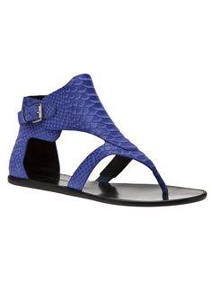 Sigerson Morrison Gillian Sandal - Zoe - farfetch.com #cobalt #blue