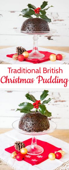 how to make a traditional british christmas pudding