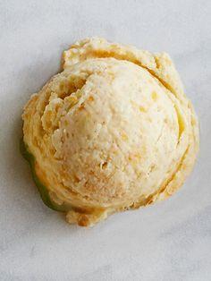 Goat Cheese and Peach Ice Cream