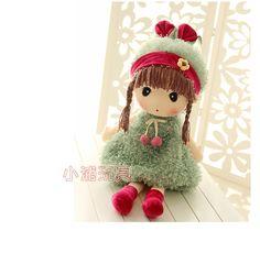 正版百变菲儿女孩 创意卡通毛绒玩具公仔可爱布娃娃儿童生日礼物-tmall.com天猫