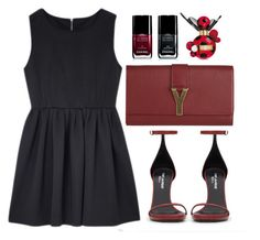 """Untitled #87"" by isabel1123 ❤ liked on Polyvore featuring Yves Saint Laurent, Chanel and Marc Jacobs"