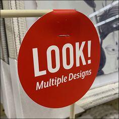 Retail Fixtures, Shelf Dividers, Flag Stand, Block Lettering, Hang Tags, Card Wallet, Framed Art, Hooks, Basket