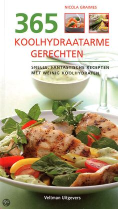 kookboek 365 koolhydraatarme recepten