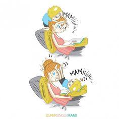 33 caricaturas de la realidad de las madres solteras ¡Para reír! | Blog de BabyCenter