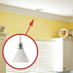 Recessed to pendant light conversion instructions