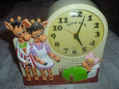 Rare Working Toys R Us Geoffrey Collectible Janex Talking Alarm Clock,TicsTalks.