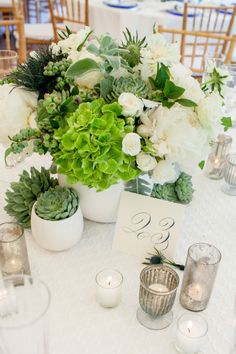 Gorgeous greens: http://www.stylemepretty.com/connecticut-weddings/darien/2015/04/22/preppy-backyard-wedding/ | Photography: Iris Photo - http://photoiris.com/