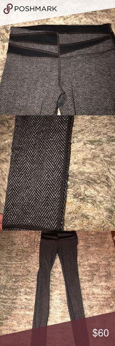 LULULEMON tweed like wunder under Beautiful brown and black worn once! lululemon athletica Pants