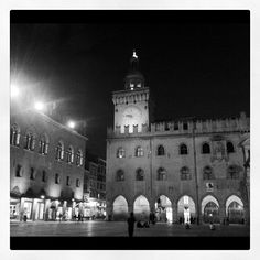 """Piazza Maggiore by night. #bologna #blogville"" by @just_jeanette"
