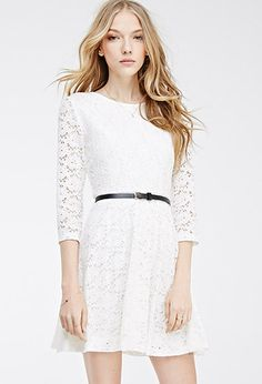 dress #Forever21 #Lace