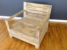 Pallet Chair - Upcycled Pallet Garden Furniture | 99 Pallets