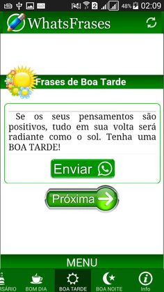 WhatsFrases para WhatsApp: captura de tela