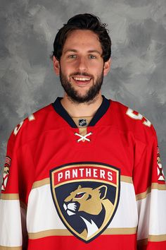 Jason Demers of the Florida Panthers poses for his official headshot for the 20162017 season on September 22 2016 at the BBT Center in Sunrise Florida