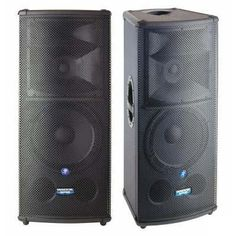 Turn it up! PAIR MACKIE SR1530 3-WAY PA SPEAKERS COVERS & INSTRUCTIONS