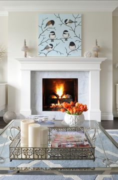 Healthy living at home devero login account access account Fireplace Trim, Small Fireplace, Fireplace Wall, Fireplace Surrounds, Fireplace Design, Fireplace Mantels, Luxury Interior Design, Home Interior, Marble Fireplaces