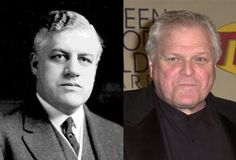 Famous Lookalikes: Mitchell Palmer - Brian Dennehy (Image of Brian Dennehy provided by Getty Images)
