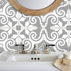 Add a splash of colour to kitchen backsplash or spice up your staircase riser or a facelift on your bathroom wall, instantly transform your home by simply peel and stick. Home decor trend is changing faster than you can hack the wall! Tile decals are the best solution to give your