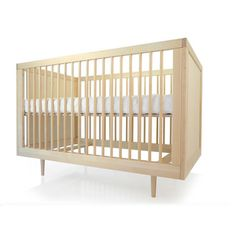 Ulm Crib Birch, $650, now featured on Fab.