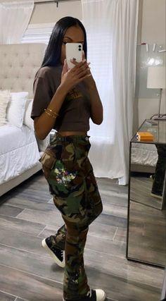 Black Girl Fashion, Tomboy Fashion, Look Fashion, Streetwear Fashion, Teen Fashion, Fashion Outfits, High Fashion, Baddie Outfits Casual, Cute Swag Outfits