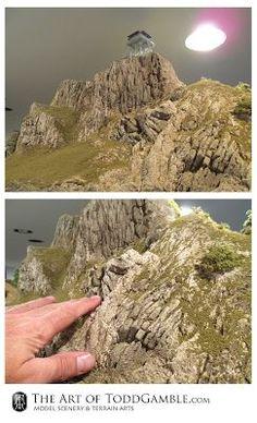 The Art of Todd Gamble: Creating rock work on the narrow gauge