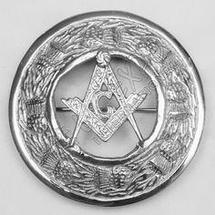 Masonic Brooches | Plaid Brooches