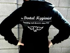 dental hygiene jewelry | Dental Hygienist Hoodie in Black. $43.00, via ... | All things Dental ...